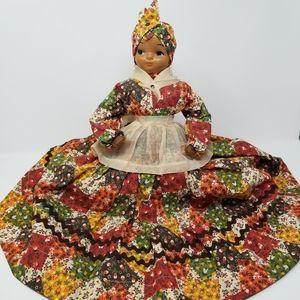 Vintage Black Americana Shelf Sitter Souvenir Doll